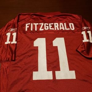 Larry Fitzgerald Arizona Cardinals Reebok Jersey